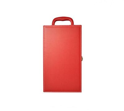 皮质红酒盒