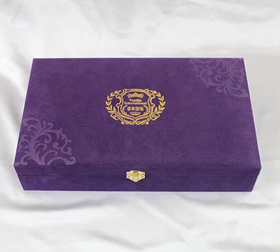 绒布盒包装
