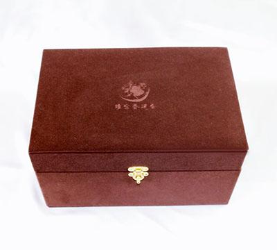 绒布礼品盒包装